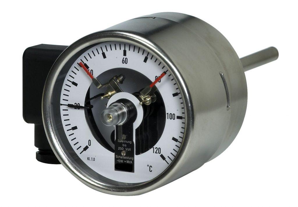 Magnetspringkontakt Thermometer