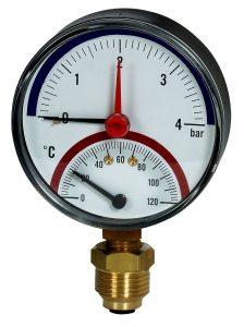 Standard Rohrfedermanometer